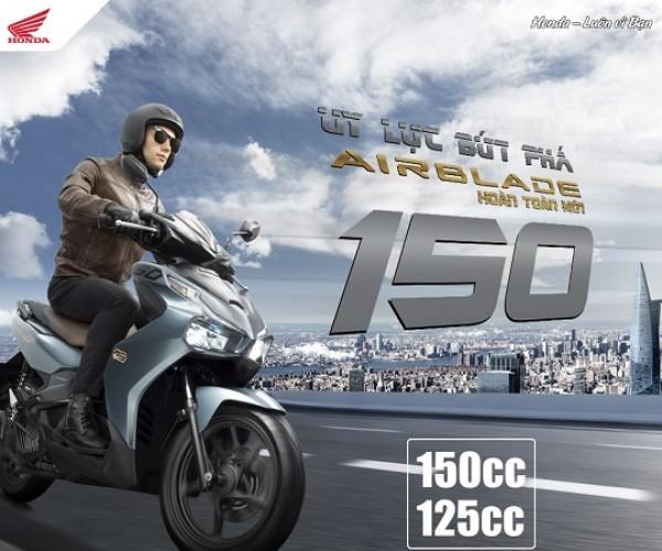Honda Airblade 150cc/125cc - Uy lực bứt phá